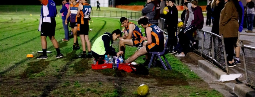 Five Dock Physio patches up players on the sidelines